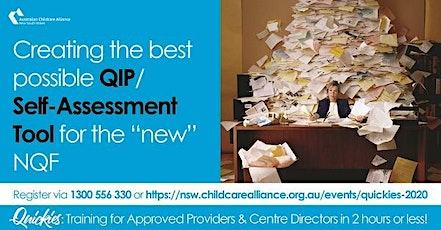 Quickies: Creating the best possible QIP/Self-Assessment Tool submission tickets