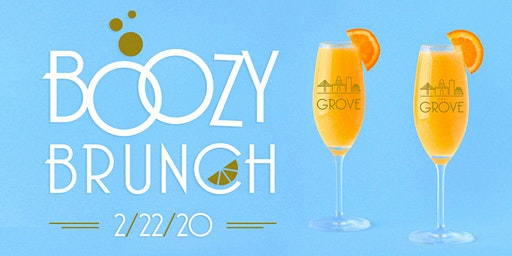 Boozy Brunch at The Grove