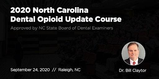9/24/20 NC Dental Opioid Update Course