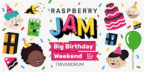 Trivandrum Raspberry Jam Big Birthday Weekend tickets
