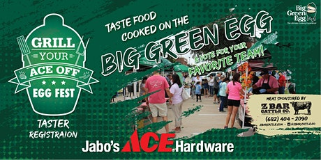 Grill Your Ace Off Egg Fest: People's Choice Tasting Ticket tickets