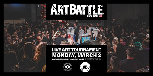 Art Battle Boston - March 2, 2020