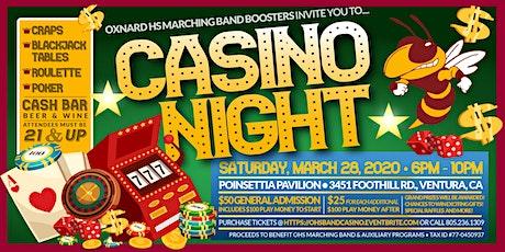 Oxnard High School Band Casino Night Fundraiser tickets