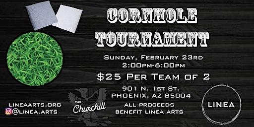 Linea Cornhole Tournament @ The Churchill