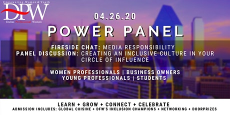 Dallas Professional Women's Spring #PowerPanel2020 tickets
