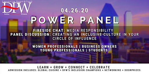 Dallas Professional Women's Spring #PowerPanel2020