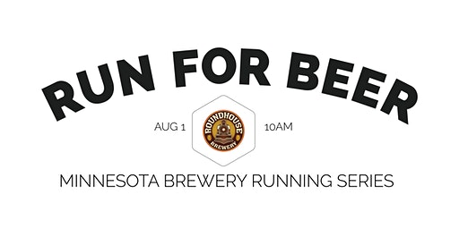 Beer Run - Roundhouse Brewery | 2020 Minnesota Brewery Running Series