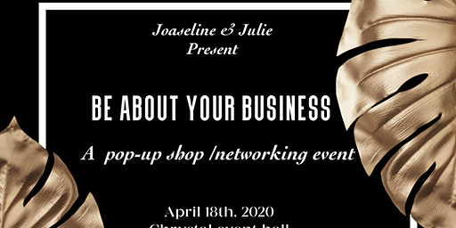 Be about your business pop-up shop / networking event