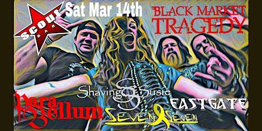 Black Market Tragedy Album Release Show