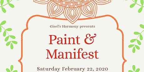Paint & Manifest tickets