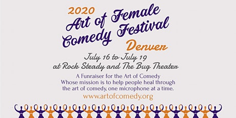 Art of Female Comedy Festival tickets