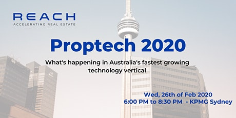 Proptech in 2020 tickets