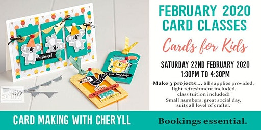 Creating Cards with Cheryll