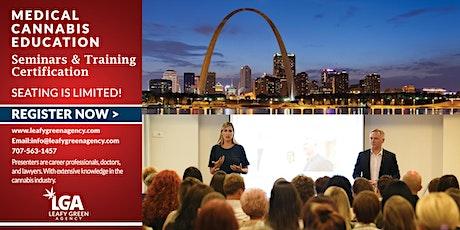 Missouri Medical Marijuana Dispensary Training Seminar- St. Louis tickets