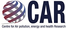 Centre for Air pollution, energy and health Research (CAR) logo
