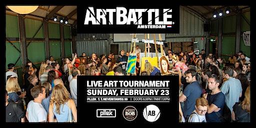 Art Battle Amsterdam - 23 February, 2020