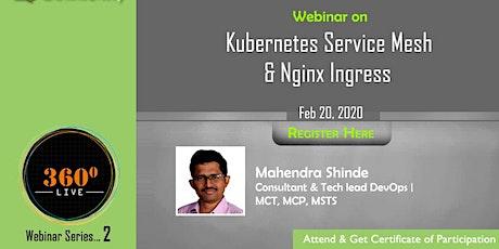Webinar 3: Kubernetes Service Mesh & Nginx Ingress tickets