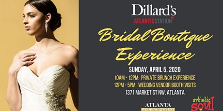 Dillard's Bridal Brunch and Boutique Experience by #AtlantaWEP tickets