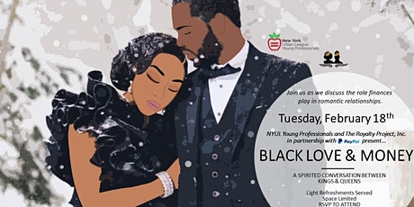 NYULYP & TRP presents Black Love & Money tickets