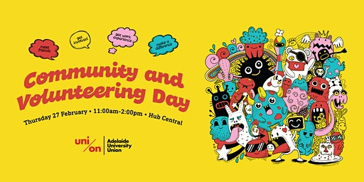 2020 Community and Volunteering Day  - book your stall here!