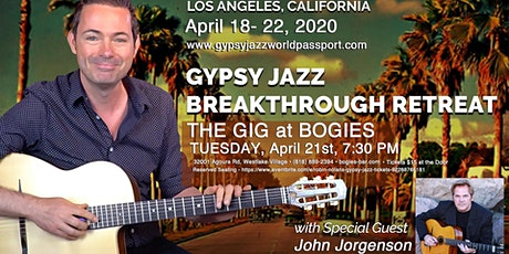 Robin Nolan & Gypsy Jazz Retreat Players ft. John Jorgenson tickets