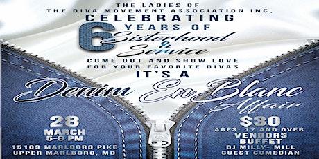 "A ""Denim En Blanc"" Affair tickets"
