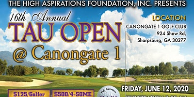 High Aspirations Foundation 16th Annual Tau Open