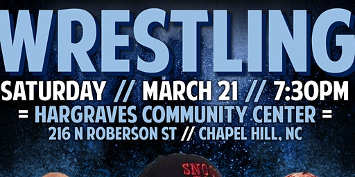FSPW & NCWA Presents: Live Pro Wrestling in Chapel Hill!