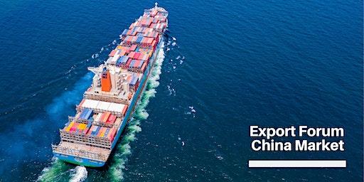 Export Forum – China Market Opportunities