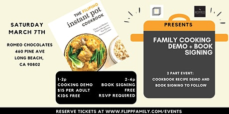 The Filipino Instant Pot Cookbook Family Cooking Demo + Book Signing tickets