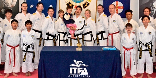 ITFA International Instructor Course & Black Belt Grading April 2020 (Taekwon-Do)