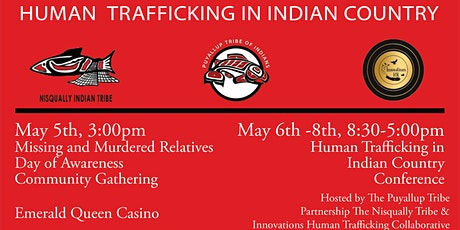 Human Trafficking in Indian Country 2nd Annual South Sound Conference tickets