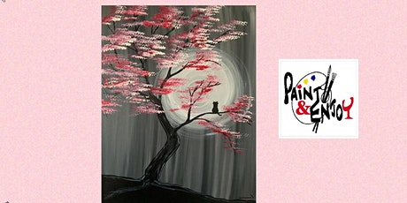 "Paint and Enjoy at the Rustic Cup, East Prospect  "" Spring night "" tickets"