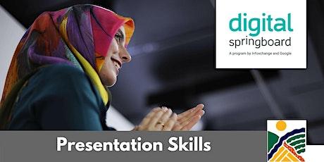 Presentation Skills @ Freeling Library (May 2020) tickets