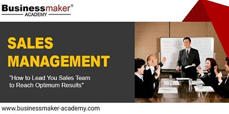 SALES MANAGEMENT tickets