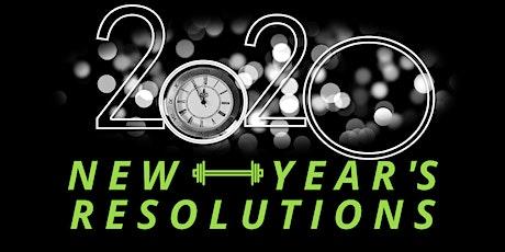 New Year's Resolutions - Seminar tickets