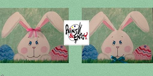 """Paint and Enjoy at OLd Republic Distillery """"Bunnies  """""""