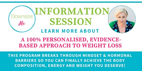 DownsizeMe Information Session - FREE! tickets
