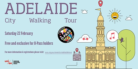 Adelaide City Walking Tour - Saturday 22 February tickets