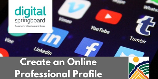 Create an Online Professional Profile @ Freeling Library (Jun 2020)