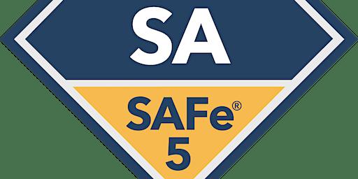 Leading SAFe 5.0 with SAFe Agilist(SA) Certification Fargo, North Dakota (Weekend)