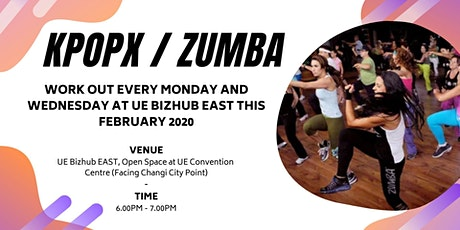 FREE Workout at UE Bizhub EAST: KPOPX FITNESS / ZUMBA tickets