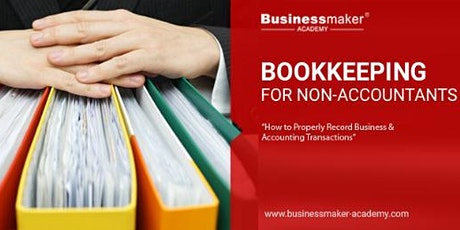 BOOKKEEPING FOR NON-ACCOUNTANTS tickets