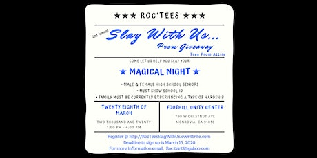 Slay With Us Prom Giveaway tickets