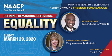 NAACP 94th Anniversary Celebration Herby Dawkins Freedom Fund Banquet tickets