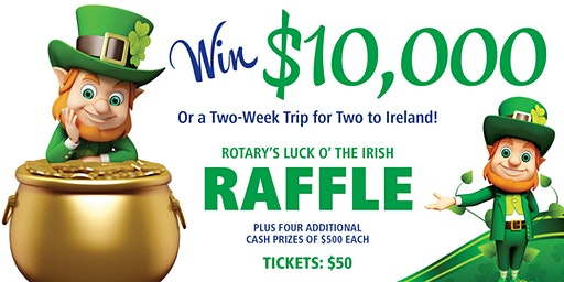 Rotary Club of Sonoma Valley's Annual St. Patrick's Day FUNdraiser!