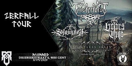 Zerfall Tour: Finsterforst + Lucifer's Child, Sojourner, Countless Skies tickets