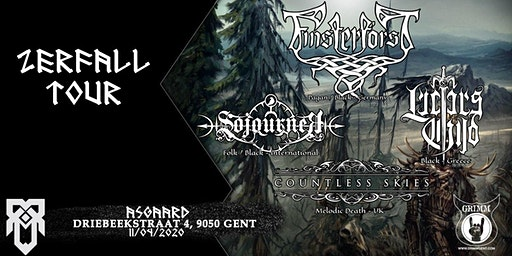 Zerfall Tour: Finsterforst + Lucifer's Child, Sojourner, Countless Skies