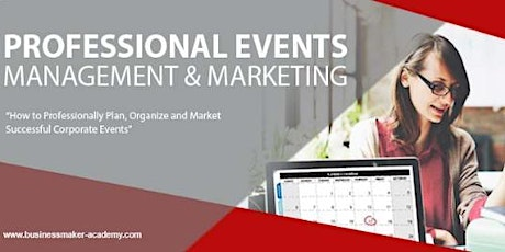 PROFESSIONAL EVENTS MARKETING & MANAGEMENT tickets