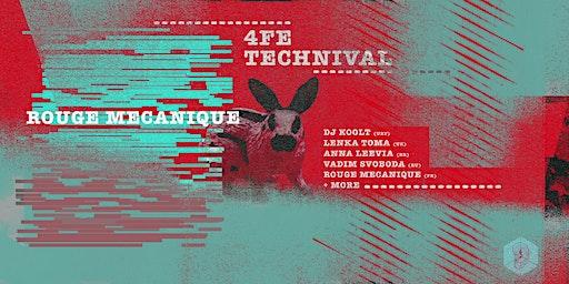 4FE TECHNIVAL PRESENTS DJ KOOLT AND MORE...